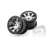 2.2 Raceline Renegade disky - 41mm (chrom/cerne, 2 ks.)