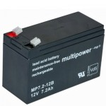 Pb akumulator MULTIPOWER 12V/7,2Ah