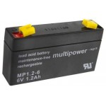 Pb akumulator MULTIPOWER 6V/1,2Ah