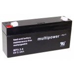 Pb akumulator MULTIPOWER 6V/3,2Ah
