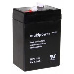 Pb akumulator MULTIPOWER 6V/4,5Ah