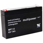Pb akumulator MULTIPOWER 6V/7,0Ah