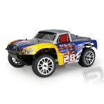 Short Course 1/16 RTR 2,4GHz Brushless - modra
